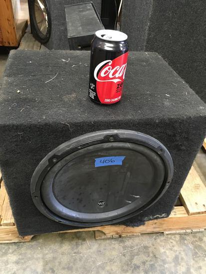 Patented W3 JL Audios speaker