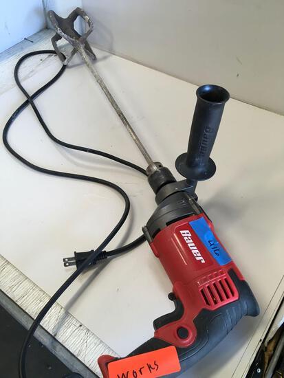 Bauer reversible hammer drill. Works