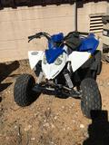 2013 Quad 90cc Polaris TURNS OVER- DID NOT START, HAS BROKEN TIE ROD, Sold on TITLE