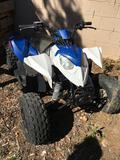 2013 Quad 90cc Polaris DID NOT START - NO KEY - HAS BROKEN FRAME Sold on TITLE