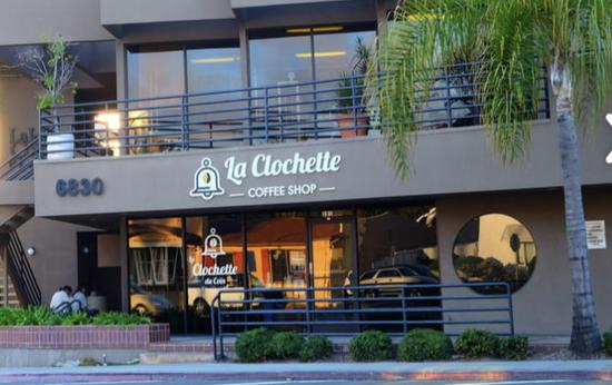 COFFEE SHOP EQUIP. La Jolla Ca.- La Clochette Coin