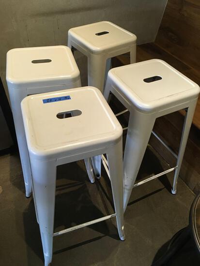 """Metal bar stools 30"""" tall"""