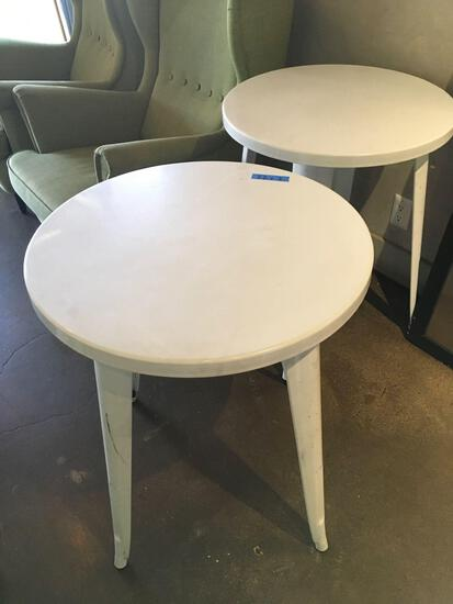"Metal dining tables 29½"" tall"