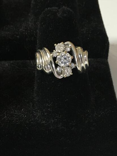 Diamond ring size 6....