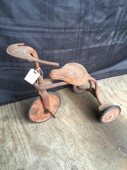 Vintage Batwing Tricycle