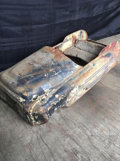Vintage RARE Metal Pedal Car, body only Safari 520
