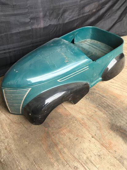 Vintage Metal Pedal Car, Nice body only
