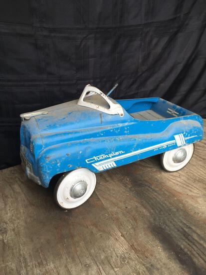 Murray Champion Jet Flow Drive Metal Pedal Car
