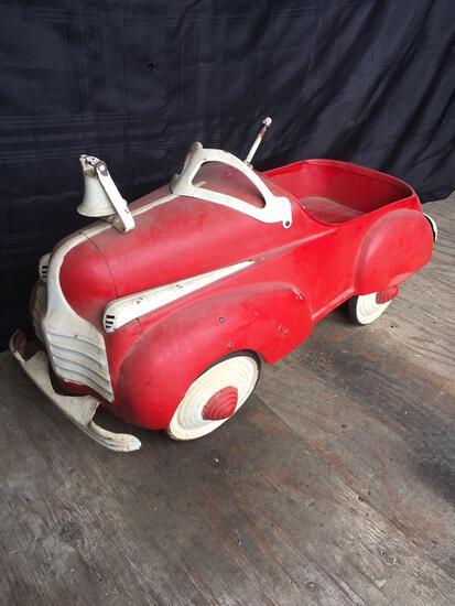 Steelcraft 1941 Chrysler Metal Pedal Car