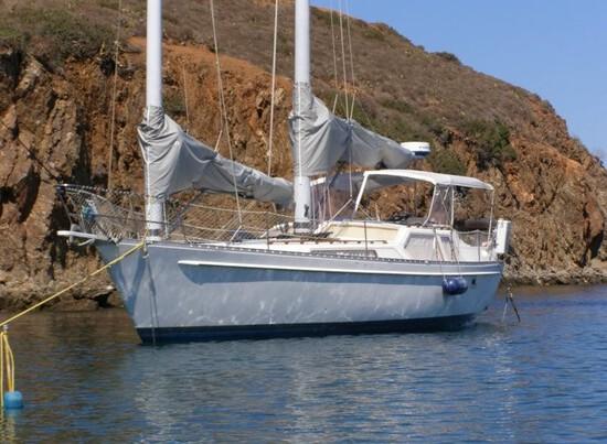 Freedom 39 American pilothouse schooner