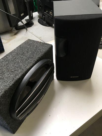 Pioneer car speaker & Pioneer S-P340A speaker