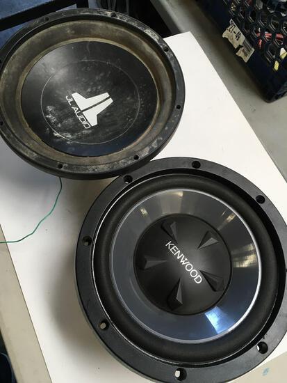 Kenwood KFC- W112S & JL Audio W3 V2 car speakers