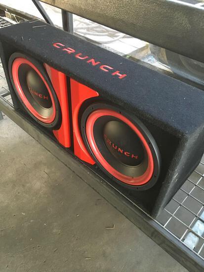 Crunch dual car speaker