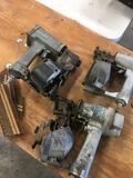 Hitachi NV 45AB, unknown & Pasiode pneumatic tools. Untested