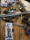 Lot. Assorted car parts/ tools/ items