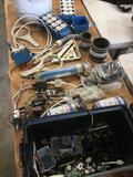 Grouping of electric components & assorted items