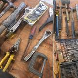 Grouping of assorted tools/ items