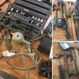 Grouping of assorted Hammers & Misc. tools