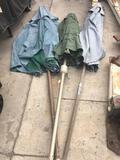 Outdoor Market Umbrellas. 3 pieces