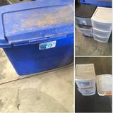Assorted Sterlite Organizer units & Storage box