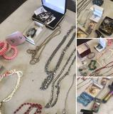 Costume Jewelry, Rings, Pendants, Brooches, Chains etc