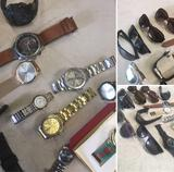 Men's & Women's Watches & Sunglasses, UNTESTED AS-IS