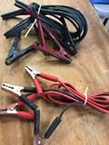 2 pieces. Car battery jumper cables