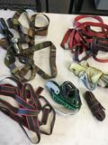 6 pieces. Assorted tie downs