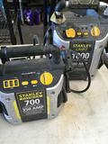 Stanley Jumpit 1000 & 700 jump starters with compressors
