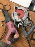 Skilsaw HD77 Worm Saw & Chicago Reciprocating Saw. Both WORK