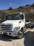 2018 Hino 338 Diesel with Jerrdan Roll back body, Does Not Run