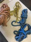 4 pieces. Assorted rope