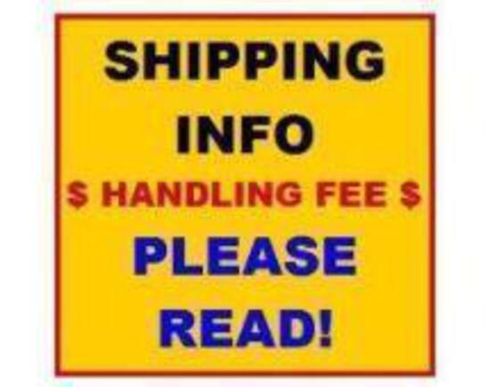 ****SHIPPING INFORMATION** DO NOT BID ON THIS ITEM!! JBA DOES NOT SHIP!