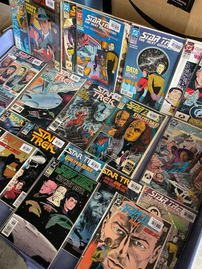 Vintage, Star Trek The Next Generation comics. Very good condition. 42 pieces