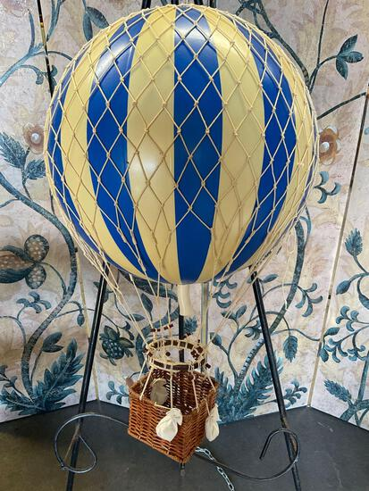 """Authentic Models, Air balloon, hanging home deco. approximately 20"""" T"""