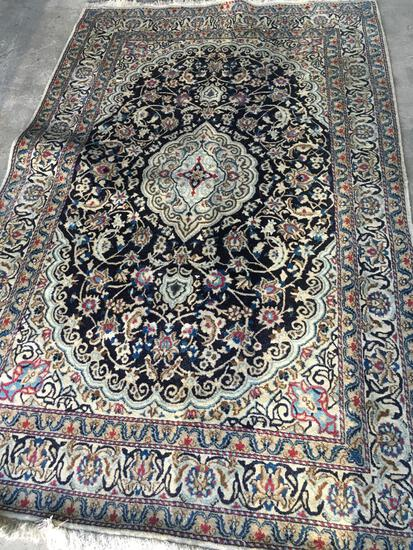 """Rostamian Carpets, Iranian hand knotted, 249"""" x 158"""""""