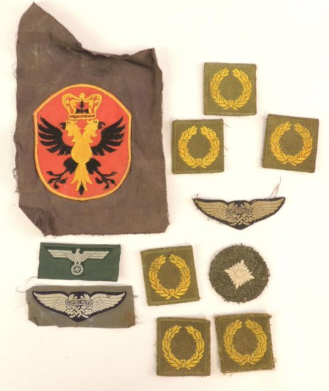 Group of 11 WW2 German Patches    Auctions Online | Proxibid