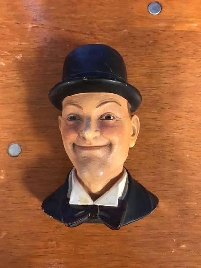 Stan Laurel plaster wall bust