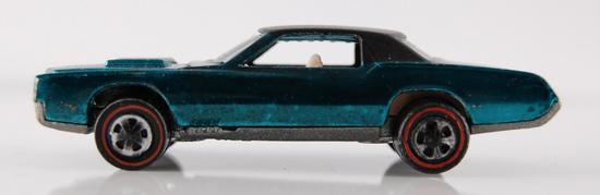 Hot Wheels Redline Blue Custom Eldrado