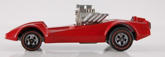 Hot Wheels Redline Enamel Red Strip Teaser