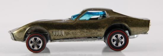 Hot Wheels Redline Lime Green Custom Corvette