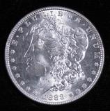 1888 Morgan Dollar.