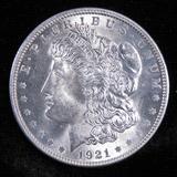 1921 Morgan Dollar.