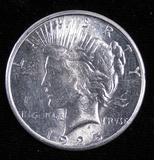 1925 S Peace Dollar.