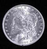1890 Morgan Dollar.