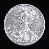 1942 D Walking Liberty Half Dollar.
