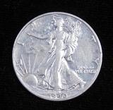 1940 S Walking Liberty Half Dollar.