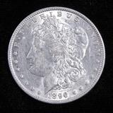 1896 Morgan Dollar.