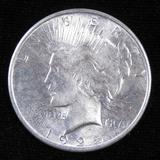 1925 Peace Dollar.
