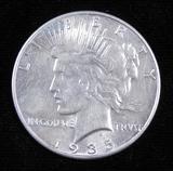 1935 Peace Dollar.